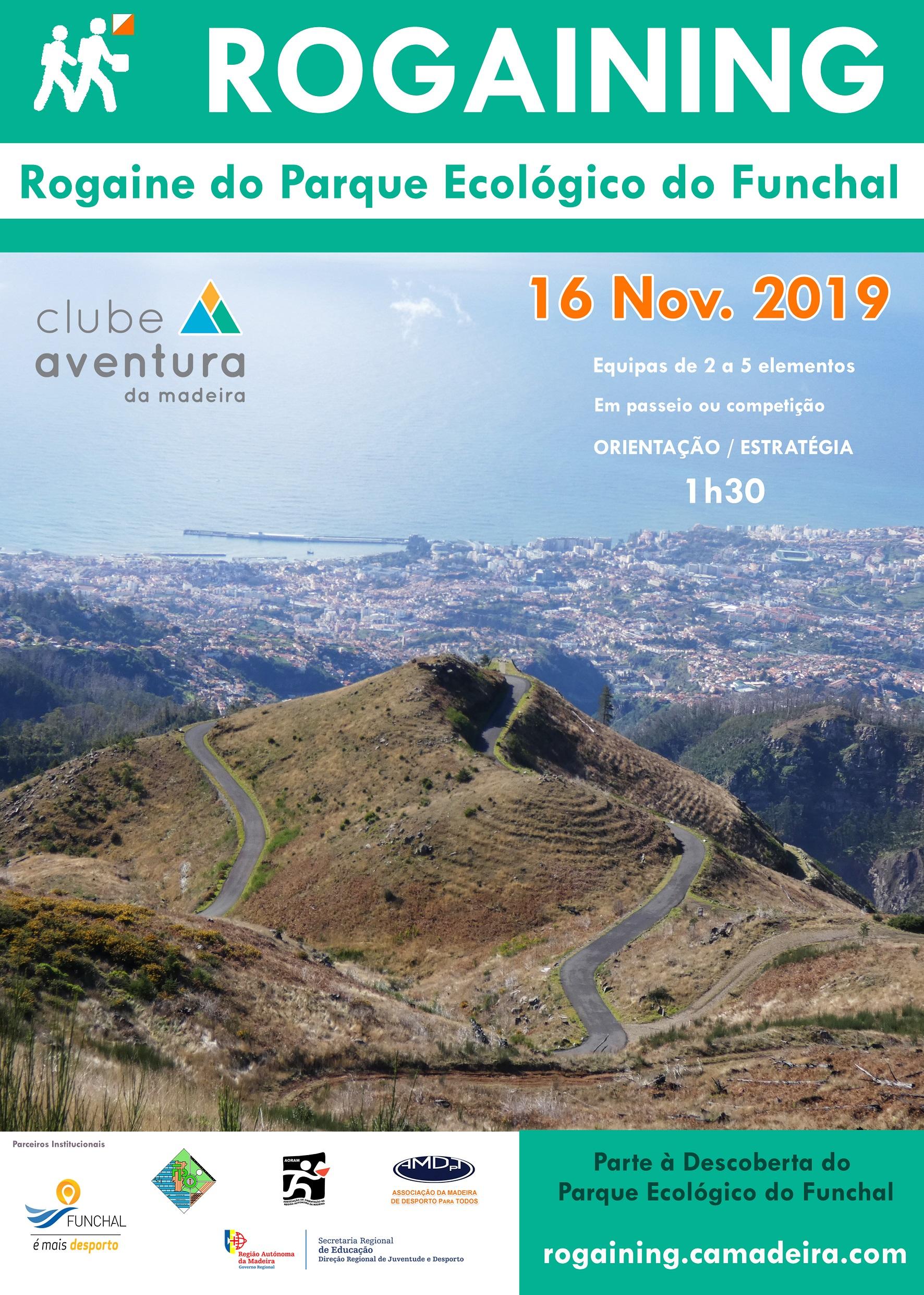 CARTAZ ROGAINE DO Parque Ecologico do Funchalb